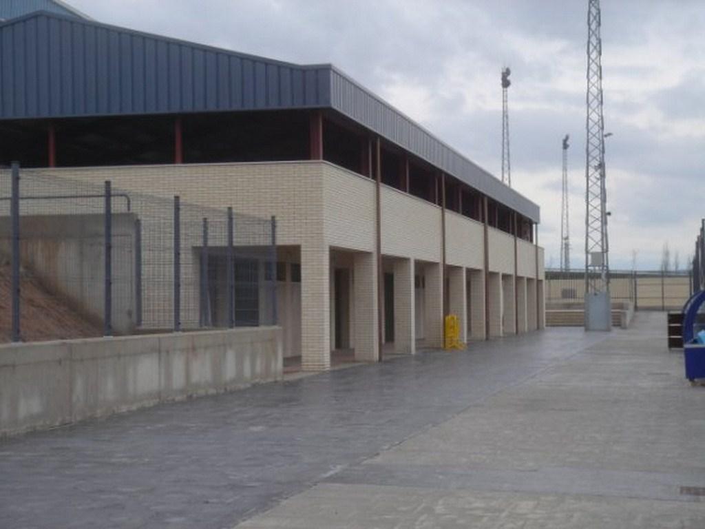 Pabellón polideportivo en Alfaro, La Rioja