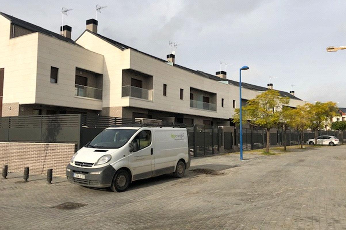 44 viviendas unifamiliares en Leganés