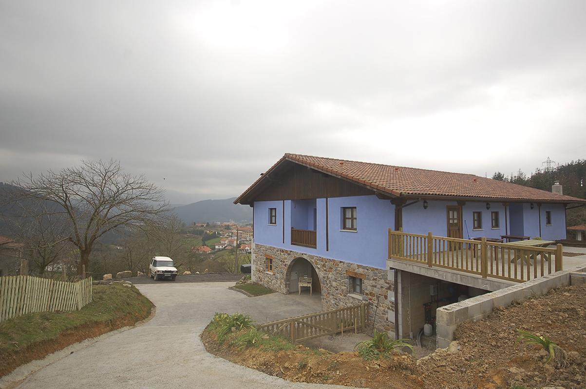 Casa rural en Zaratamo, Vizcaya
