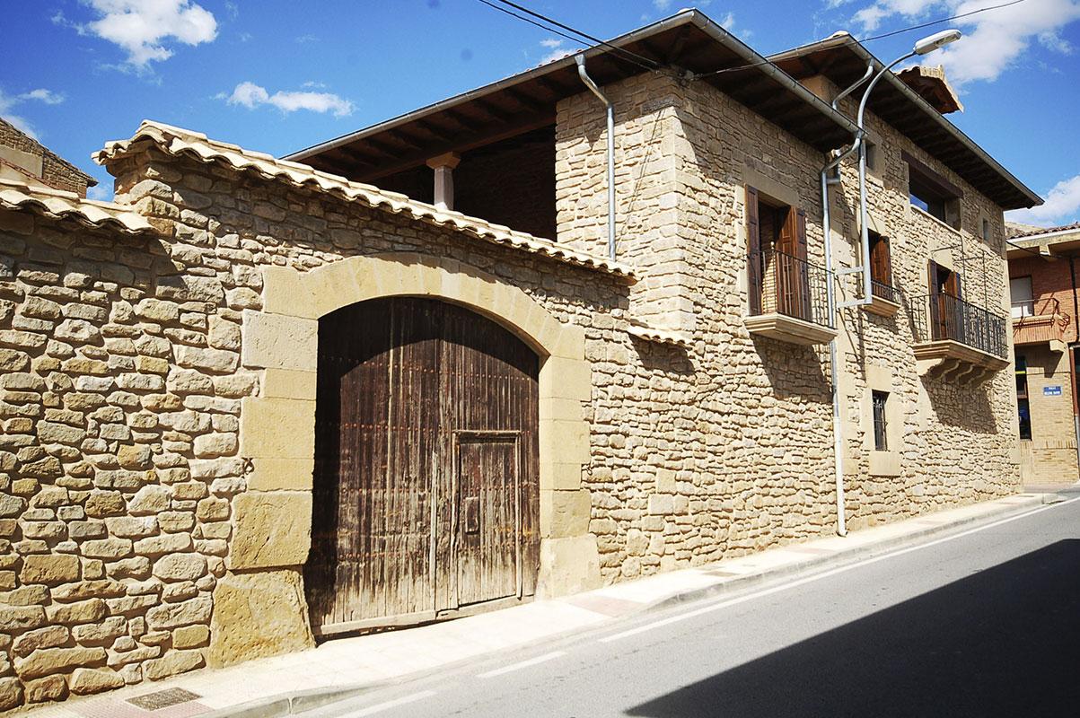 Vivienda unifamiliar en Murillo el Fruto, Navarra